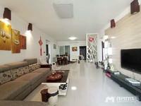 出租:财富名门,中间靓楼层,4房2厅采光通风好,家私家电齐全,月租3800元