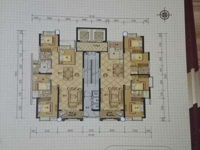急售宏丰新城 南北向 4房2厅可改5房 仅售97万
