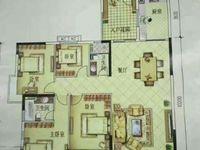 中银名苑低楼层,178平方,4房2厅,西南向,毛坯房
