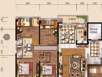 碧桂园公园一号,149平方,4房2厅,精装,168万
