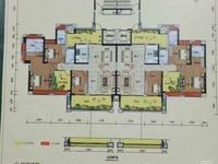 恒福尚城楼王高楼层,181.14平方,毛坯,南北向一字楼,192万送小车位