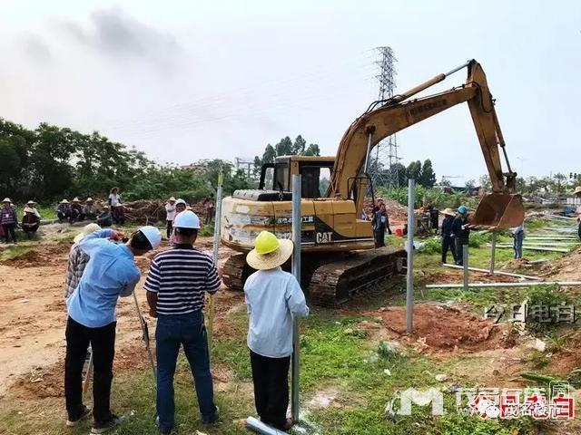 敏捷电白项目已动工,香堤国际商住小区效果图出炉