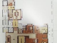 金源盛世楼王中层,257平方,南北向,布局靓,毛坯,8000元每平方