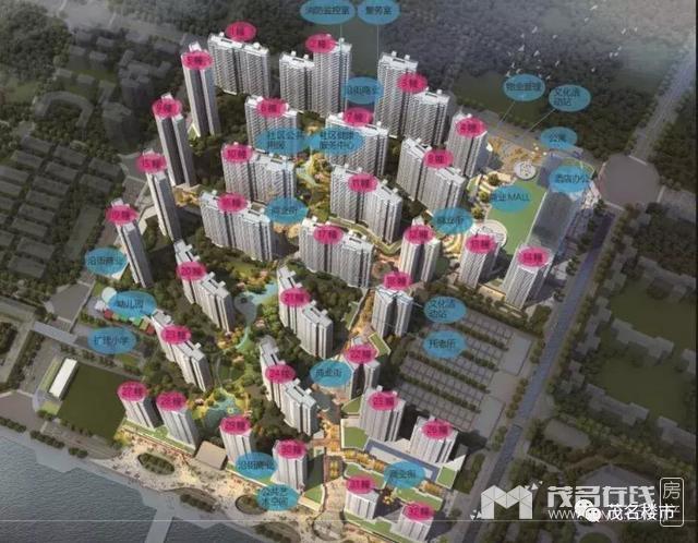 今年电白房地产市场会有多猛?总投资达220多亿的楼盘项目来袭