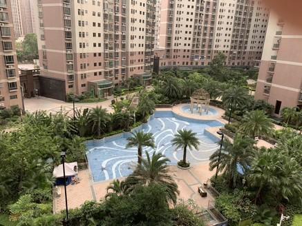 星翠苑198方167万 双主卧厅大房大 正对花园 楼 王位置