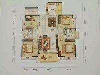 首付60万,愉园双学位房,时代尚品,东南向,4房2厅