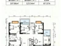 出售东方绿洲4室2厅2卫123.54平米110万住宅