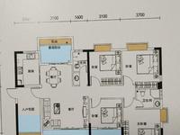 东方绿洲高楼层东头142平方赠送后170平方140万