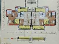 楼王恒福尚城一字楼,4房2厅,一口价143万