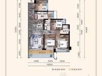 出售丰德 君临丽景3室2厅2卫90平米62万住宅