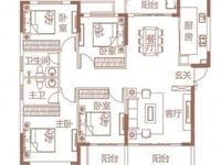 高铁商圈 4房2厅 141平方 电梯精装 仅售130万