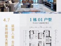 出售敏捷锐丰 香堤国际4室2厅2卫142平米101万住宅
