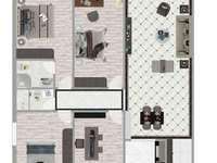 方兴翠苑 4房2厅 146平方 毛坯电梯房 仅售113.8万