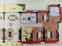 包改名出售恒福尚城二期4室2厅2卫151平米148万住宅