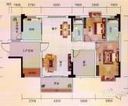 富城御园 4室两厅两卫 可做办公室,可住。